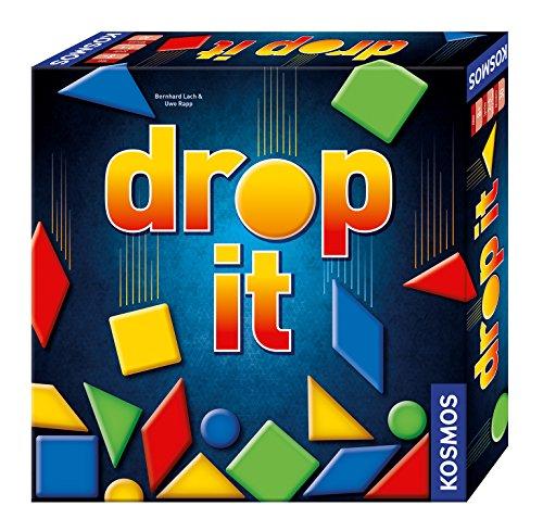 Kosmos 692834 – Drop It, Das schnelle Spiel mit Geschick und Taktik, Familienspiel ab 8 Jahre