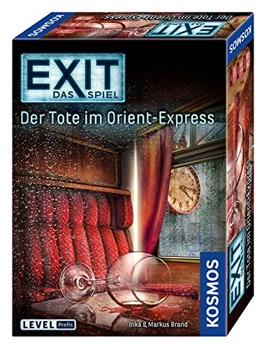 Kosmos 694029 – EXIT – Das Spiel – Der Tote im Orient-Express, Level: Profis, Escape Room Spiel