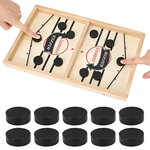 Brettspiel Hockey, Fast Sling Puck Game, Bouncing Hockey, Katapult Brettspiel, Bouncing brettspiel, Bouncing Chess Hockey Game, Super Winner Brettspiel, Interaktives Eltern-Kind-Schachspielzeug