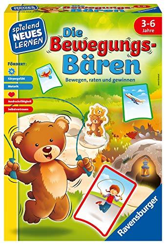 Ravensburger 20568 – Die Bewegungs-Bären – Spielen und Lernen für Kinder, das Bewegungsspiel für Kinder von 3-6 Jahren, Spielend Neues Lernen für 1-6 Spieler