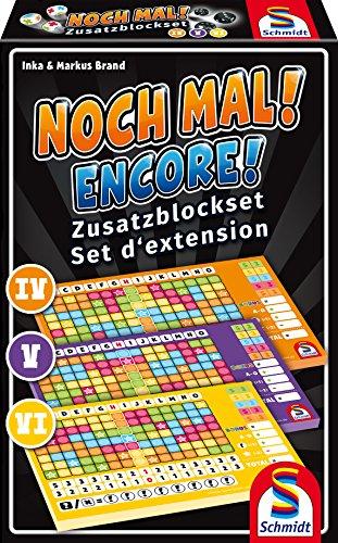 Schmidt Spiele 49345 Noch Mal Zusatzblöcke (3 Stück)