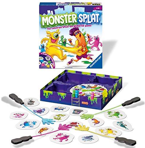 Ravensburger 20541 Splat Spiel für Kinder ab 5 Jahren – das französische Reaktionsspiel. Schlagen Sie die Monster so schnell wie möglich,