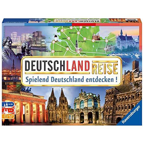 Ravensburger 26492 – Deutschlandreise – Familienklassiker ab 8 Jahren – Gesellschaftspiel, Reise durch Deutschland, für bis zu 6 Spieler