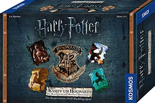 Kosmos 680671 Harry Potter – Kampf um Hogwarts Erweiterung – Die Monsterbox der Monster – Erweiterung zu Harry Potter Spiel Hogwarts Battle in deutscher Sprache, für 2-4 Spieler, ab 11 Jahre