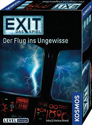 KOSMOS 691769 EXIT – Das Spiel – Der Flug ins Ungewisse, Level: Einsteiger, Escape Room Spiel: 1 – 4 Spieler