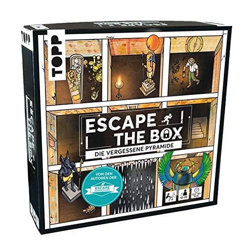Escape The Box – Die vergessene Pyramide: Das ultimative Escape-Room-Erlebnis als Gesellschaftsspiel!